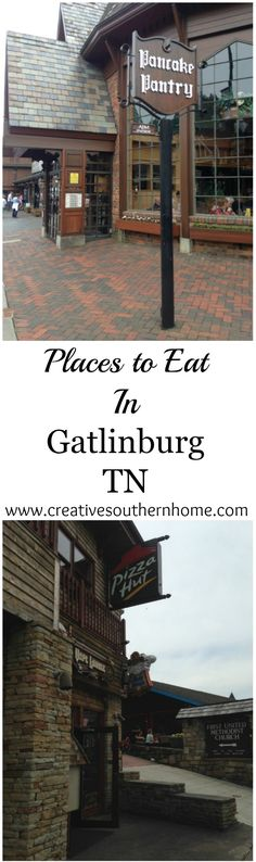 Heading to Gatlinburg soon?  Check out these great places to eat.  Plus a place to get FREE water on the parkway!  www.creativesouthernhome.com