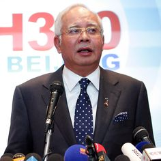 Malaysian PM says plane is lost, passengers are dead
