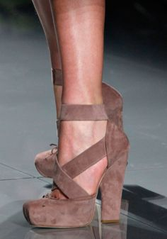 Dior - Fall Winter 2012/2013 Lord I wish I could afford these fof fall.
