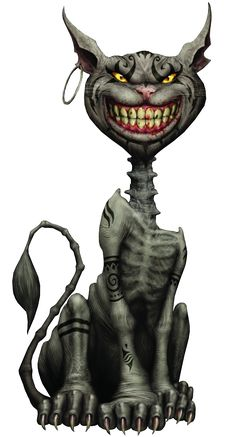 Cheshire Cat from Alice: Madness Returns