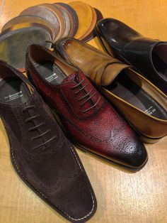 Scarpe di Bianco bespoke shoes can be ordered in a huge array of colors.