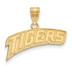 14ky LogoArt Louisiana State University Medium Pendant