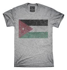 Retro Vintage Jordan Flag T-Shirts, Hoodies, Tank Tops