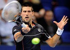 World #1 Novak Djokovic in Basel Semis