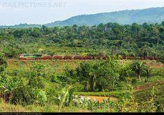 Foto RailPictures.Net: EFC 234 EFC - Estrada de Ferro Carajás GE ES58ACi em Parauapebas (PA), Brasil por Nicolas Fagundes