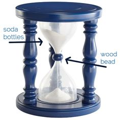 Make your own hourglass time-out stool