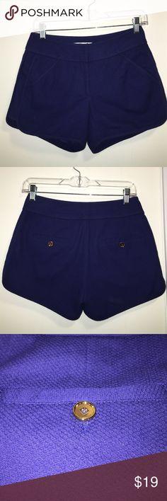 Annie Griffin Dress Shorts Royal blue Annie Griffin dress shorts Annie Griffin Shorts
