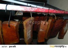 Domácí slanina recept - TopRecepty.cz Bbq, Barbecue, Barbacoa, Barrel Smoker