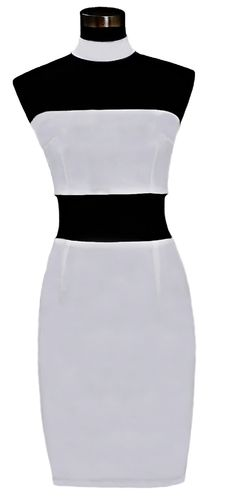 Steam Flatter in this vibrant white bodycon bandage dress designed with soft and lightweight woven material. The choker-neck detail and form fitting shape create a refined, sexy look ideal for a night downtown with friends. Anti-Static. Eco-Friendly. Anti-Wrinkle.     White choker dress Knee length bandeau summer dress Form fitting cocktail dress Sexy party bodycon zipper back dress     Fabric  Material: 95% polyester 5% elastane Fabric Type: Woven