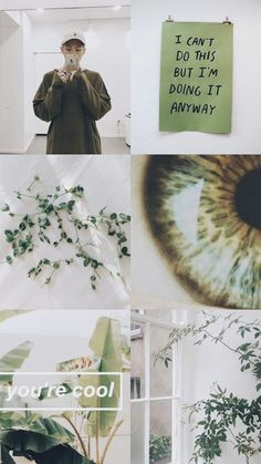 bts ∆ moodboard ∆ jungle green ∆ white