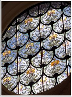 un-monde-de-papier: Un vitrail du Petit Palais, à Paris. Photos: cc https://www.flickr.com/photos/9308488@N05/ https://creativecommons.org/licenses/by-nc-sa/2.0/