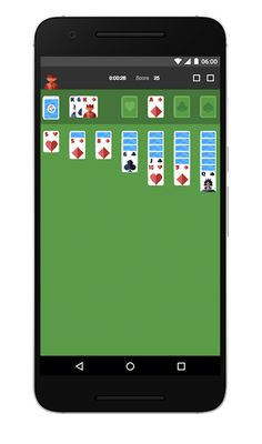 Solitaire on Google