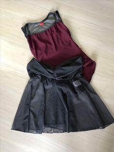 Yumiko leotard Becky repetto skirt Ballet Wear, Minimalist Wardrobe, Dance Wear, Leotards, Sewing, Fitness, Skirts, How To Wear, Inspiration