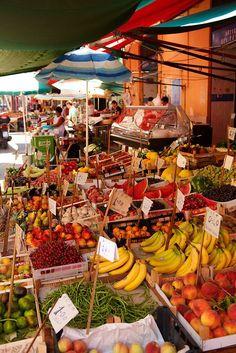 Market in Palermo, Sicily - Italy