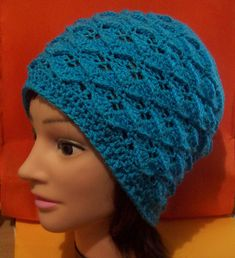 Ravelry: The Dragon Scale – Adult Hat – Free Crochet Pattern pattern by Cathy Wood
