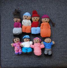 Izzy Doll - crochet comfort dol