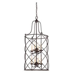 Savoy House Seneca 3-407 Foyer Pendant Light - 3-4070-4-13