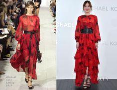 Dakota Johnson In Michael Kors – Michael Kors Ginza Flagship Store Opening