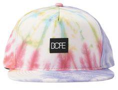 Tie dye Snapback Cap by DOPE