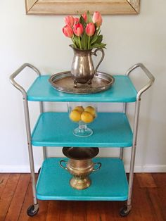 ^^Discover more about industrial bar cart. Click the link to get more information** Viewing the website is worth your time. Bar Furniture, Furniture Makeover, Painted Furniture, Bar Carts For Sale, Industrial Bar Cart, Metal Cart, Gold Bar Cart, Trendy Bar, Vintage Bar Carts