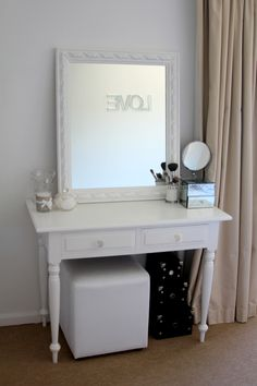 one day I will have a pretty girl vanity