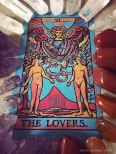 The Lovers.   Give your heart, mind, and soul to a... - tarot dreams
