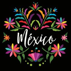 Flower Pattern Drawing, Flower Patterns, Wedding Snacks, Mexican Pattern, Beautiful Places To Travel, Mexican Art, Art Sketches, Decoration, Folk Art
