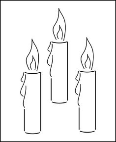 New to westlondonlaser on Etsy: 3 x Candles Stencil - Wall Art Stencil in reusable Mylar wall art small to large stencils up to 19.5 x 27.5 inches. (4.99 GBP)