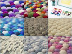 Wählen Sie die beste Größe für Ihren Filz kugel teppich