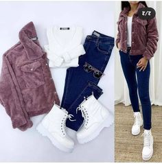 Choose yours ? Style Casual, Cute Casual Outfits, Stylish Outfits, Girls Fashion Clothes, Winter Fashion Outfits, Outing Outfit, Cocktail Dresses With Sleeves, Stylish Dress Designs, 6 Tag