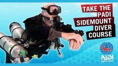 PADI Sidemount Diver.  Prerequisites: Open Water Diver