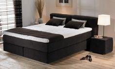 slaapkamer inrichten zwart bed - Google zoeken