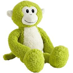 Our plush and snuggly Green Monkey makes an adorable gift-I bought this for my grandson, and the mini one for him and another child