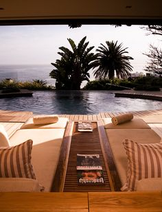 Ellerman House, South Africa: An oceanfront property with 11 lushly appointed rooms and a five-bedroom villa, the dramatic Ellerman offers jaw-dropping views Robben Island. Ocean Front Property, Couple Room, Afro, Treatment Rooms, House Front, Day Tours, Cape Town, Hotels And Resorts, Detroit