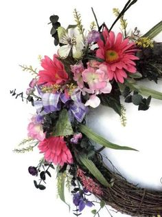 Love this wreath. Such a wonderful spring addition!