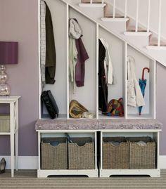 Garderobe Treppe