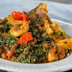 luxurycatering,nigerianfood-Our freshly cooked and super tasty food travels to you all over London and across England (Northern Ireland too! Ghana Food, Nigerian Food, Tasty, Yummy Food, Exotic Food, Ratatouille, Spinach, Catering, Brunch