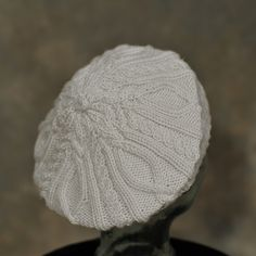 "Ravelry: ""Once Upon a Time""-Inspired Dreamy Beret pattern by Leslie Dalton"