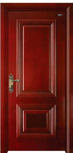 American style - American style - wooden door , wood panel door , interior design modern doors ,China manufacturer-Shijiazhuang Guanju Trading Co., Ltd