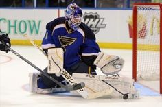 Brian Elliott of the St. Louis Blues. He had a record-setting 2011-2012 season and was a big reason the Blues made the playoffs.