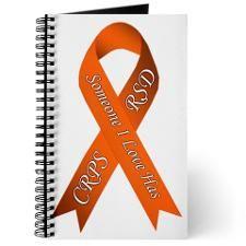 Someone I Love has CRPS RSD Orange Awarene Journal