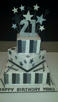 Boys 21st birthday cake Cake central