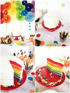 """For her """"proper"""" birthday party Lovely Little Big Daughter invited nine friends...I didn't make a second birthday cake...the second time round a settled ..."""
