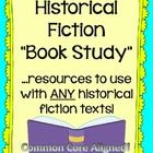 This resource is one I use with my historical fiction unit--one that includes literature circles/book clubs--and minilessons and activities are gea. Reading Workshop, Reading Skills, Reading Genres, Reading Activities, Teaching Reading, Guided Reading, Learning, Book Study, Genre Study