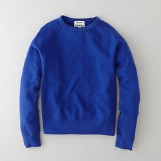COLLEGE KLEIN BLUE SWEATSHIRT