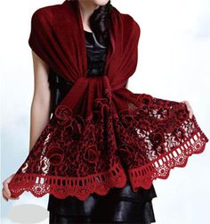 shawls scarf...so pretty