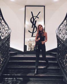 #VeronicaFerraro Veronica Ferraro: The second part of my adventure in Paris just started! Excited to be there with @yslbeauty #yslbeautynightout #yslbeauty