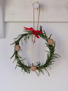 Mini rosemary wreath | Growing Spaces