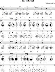 The First Noel Ocarina Tab Ocarina Tabs, Ocarina Music, Diatonic Scale, The One, Destiny, Sheet Music, Miniatures, Journey, Music