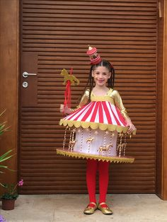 My little carousel- Carousel costume